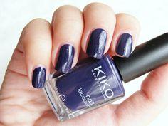 334 Dark Violet, Kiko Nail Polish Swatch