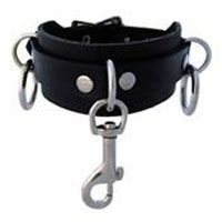 1 Hook & 2 Rings Bondage Bracelet by Ape Leather