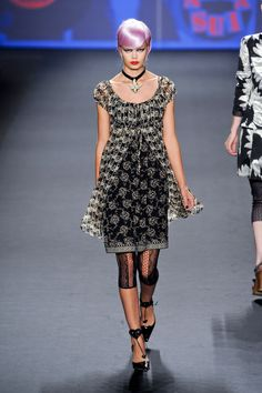 A is for Anna Sui: New York Fashion Week Spring 2013.