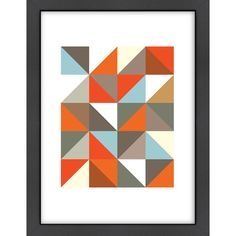 Found it at AllModern - 3 Framed Graphic Art