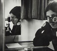 Ilse Bing Self-portrait with Leica. Paris (1931)