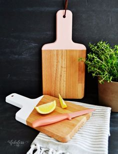 Best IKEA Hacks and DIY Hack Ideas for Furniture Projects and Home Decor from IKEA - DIY Painted Cutting Boards - Creative IKEA Hack Tutorials for DIY Platform Bed, Desk, Vanity, Dresser, Coffee Table, Storage and Kitchen, Bedroom and Bathroom Decor http://diyjoy.com/best-ikea-hacks