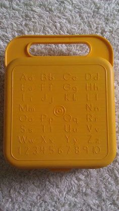 The crayons go in there 1980s tupperware toys - Google Search