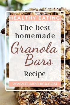 I'm sharing a homemade recipe to prepare delicious Fruity Granola Bars that you can enjoy on the go | #granolabar #granola #granolahealthy #homemade #homemaderecipe #recipeoftheday #recipeideas #healthyrecipessnacks #healthysnack
