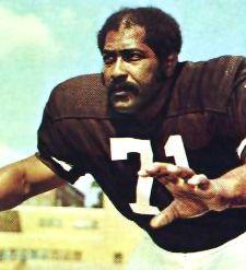 Walter Johnson Cleveland Browns 1965-77.
