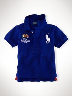 Classic-Fit Mesh Italy Polo - Infant Boys Polos - RalphLauren.com