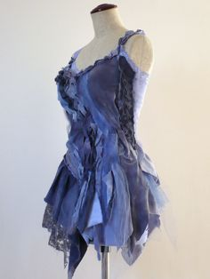 Sea Wave Blue Top By Zollection