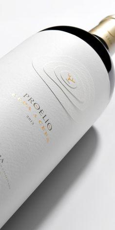 Bodegas Proelio (vin) | Design : Calcco, La Rioja, Espagne (janvier 2016)
