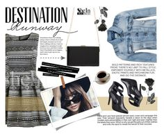 """Destination runway"" by amilla-top ❤ liked on Polyvore featuring Bebe, VILA, Industrie and Shin Choi"