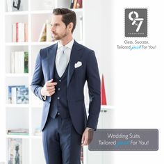 Wedding Suits Tailored just For You! Men's Customized Clothes - #Menswear, #Ethnicwear & #WeddingWear. Call: 8080 927 927 #Weddings #Formalwear #Mumbai #chembur visit us http://www.9to7fashions.com/