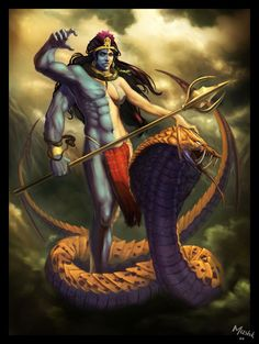 Ardhnari or Ardhnareshvar..Shiva as half man half women..