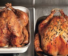 Grilled Turkey with Toasted Fennel and Coriander and Fresh Thyme Gravy