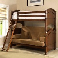 Twin over Full Liberty Futon Bunk Bed Frame Unfinished Price