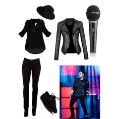 Patrick Stump by littledancernerd on Polyvore featuring polyvore, fashion, style, J Brand and Pieces