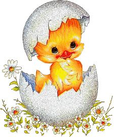 Happy Easter - Glitter Graphics: the community for graphics enthusiasts! Easter Art, Easter Bunny, Easter Eggs, Easter Pictures, Gif Pictures, Cute Clipart, Glitter Graphics, Vintage Easter, Cute Illustration