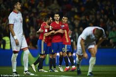 Vitolo has been in fine goalscoring form and he could the next Spaniard to move to England