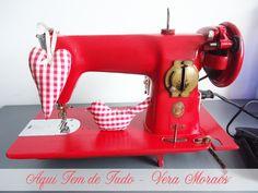 Reforma de máquina de costura antiga