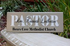 Great gift for Pastor appreciation