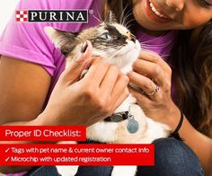 It's National Pet ID Week! Keep your pets safe and ensure they have proper identification at all times. #purinapartner . . . . . #cat #cats #dog #dogs #dogsofinsta #dogsofig #catsofinstagram #love #cute #cutie #ID #shelter #purina #partner #friend #adopt #adoptdontshop #humanesociety #hsbroward #florida #miami #fortlauderdale #adoptme #rescue