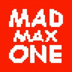 MAD MAX - ONE