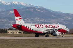 Sukhoi Superjet 100, Aircraft, Wings, Russia, Vehicles, Red, Verona, Commercial, The 100