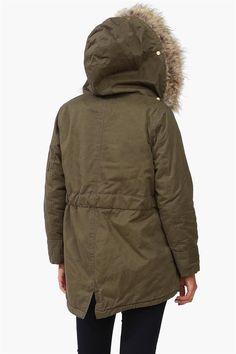 Bleeker Fur Hooded Jacket