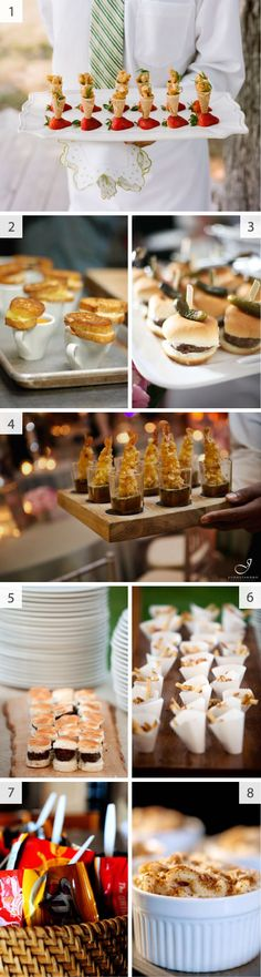 mini food ideas!