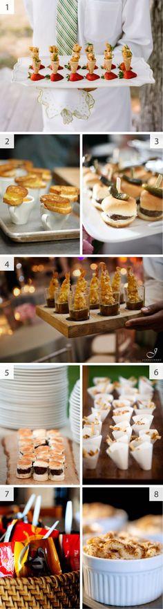 fun wedding food good wine and lots of dancing to work it off  #cupcake dreamwedding
