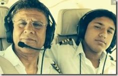 17-year-old Haris Suleman died in a plane crash on Wednesday trying to break a world record for the youngest person to fly around the world. Haris was making the wild trip with his father, who is still missing.