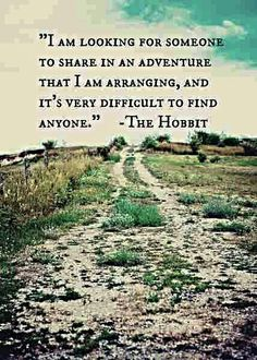 Why is it that it's always unwilling guys that get dragged away to adventuring, why not me, who would go in a heartbeat?