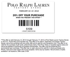 Ralph Lauren Polo Outlet 20% Off Coupon Code Ralph Lauren Factory Store, 20 Off, Coupon Codes, Polo Ralph Lauren, Butter, Coding, Fashion, Moda, Fashion Styles