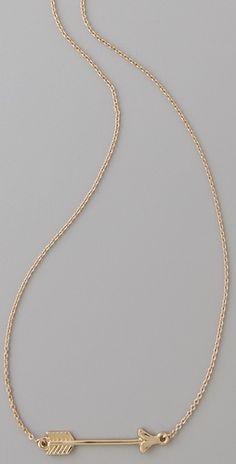 Arrow Necklace- Pi Phi #piphi #pibetaphi