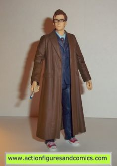 doctor who action figures TENTH DOCTOR 10th bespectactled david tennant