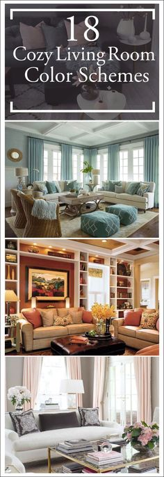Add interest to your living room with a fresh living room color scheme ideas. Living room color schemes that will make your space look professionally designed. Browse our living room color inspiration gallery to find best color & paint palette ideas.  #livingroomcolorschemes #livingroomcolorscheme #livingroomremodel
