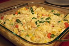 A Lazy Girl's Guide to Living Gluten Free: Chicken & Rice Casserole http://www.lazyglutenfree.com/2012/08/chicken-rice-casserole.html