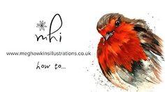 Meg Hawkins Illustrations - YouTube Speed Paint, Watercolour, Illustrations, Youtube, Painting, Pen And Wash, Watercolor Painting, Watercolor, Illustration
