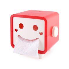 SOPORTE ROBOT PARA PAPEL WC. Ve a tu baño, mira dónde tienes colocado el papel higiénico, ¿te gusta? Si la respuesta no es un sí rotundo, decídete y lleva a tu casa éste gracioso soporte para papel higiénico con cara de robot. #deco #home #casa #baño #bathroom