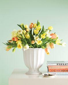 A Simple Tulip Arrangement