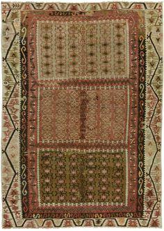 robert-hadley: Vintage Kayseri Kilim Rug. Source: kilim.com