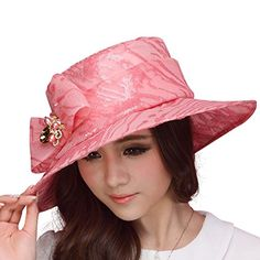 June's Young Women Sun Hat Kentucky Derby Wide Brim Floppy Ruffle Flower(White/Pink) June's Young http://www.amazon.com/dp/B00T7IQ3R0/ref=cm_sw_r_pi_dp_D.znvb0SREJRD