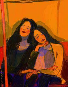 art art inspiration Art That Speaks Emotion: 4 Art Art Inspo, Inspiration Art, Journal Inspiration, Art And Illustration, People Illustration, Watercolor Illustration, Bel Art, Art Du Croquis, Arte Disney