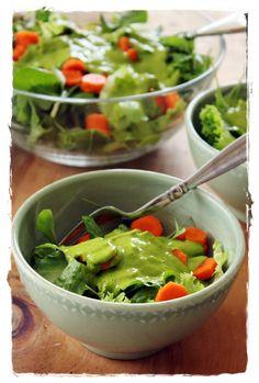 Basil Mango Salad Dressing