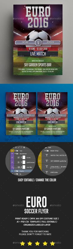 Soccer Flyer Template Flyer template, Event flyers and Font logo - soccer flyer template