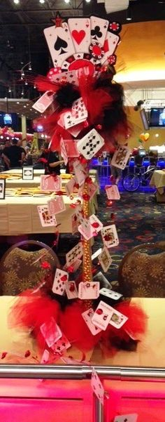 Tall Casino Decoration