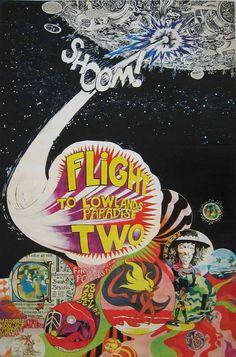 Flight to the Lowlands Paradise II, Margriethal-Jaarbeurs, Utrecht, 28 December 1968. Pink Floyd replaced Jimi Hendrix.
