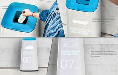 The Knowing Trashcan is design research project that focuses on how a small awareness change can impact people's attitude towards recycling. The trashcan imparts trivia based