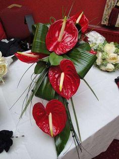 Bouquet da sposa con Anthurium (Foto 7/40) | Donna