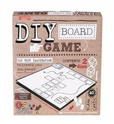 DIY Board Game - Make your own game board kit - Perfect to start working on THAT game idea. - £12.99