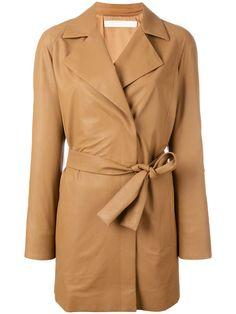DROME Belted Leather Jacket. #drome #cloth #jacket