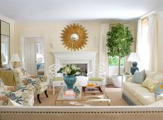 meg braff | Home-Styling: Room for the day - 7 reasons to love this room except walls too yellow